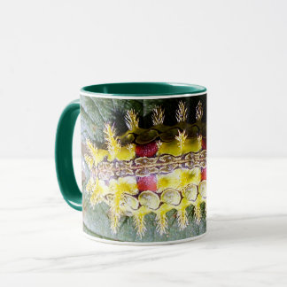 Tasse de café épineuse de Caterpillar de lingot de