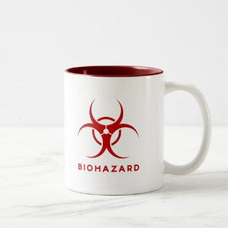 Tasse de café épique de Biohazard