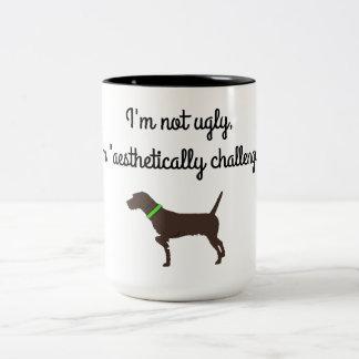 """Tasse de café """"esthétiquement contestée"""" de"""