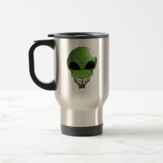 Tasse de café étrangère verte de voyage
