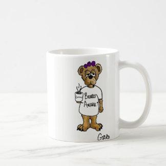 Tasse de café éveillée de Bearly