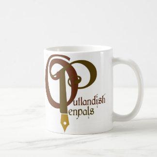 Tasse de café exotique de correspondants