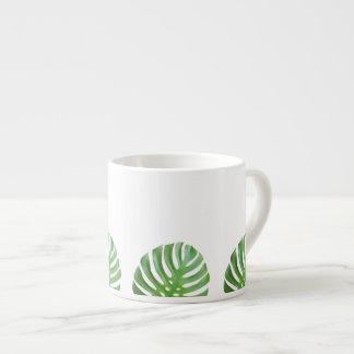 Tasse de café express de feuille