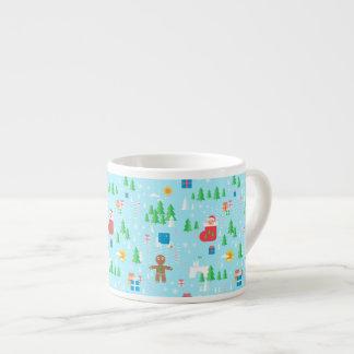 Tasse de café express de Joyeux Noël