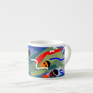 Tasse de café express d'eau libre