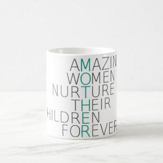 Tasse de café extraordinaire de mère
