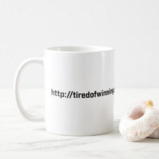 Tasse de café - fatiguée de gagner le RU