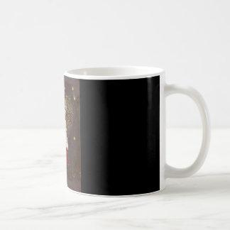 Tasse de café féerique de champignon