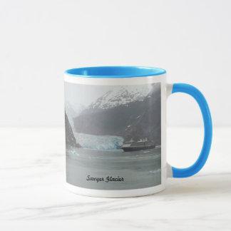 Tasse de café, glacier de Sawyer