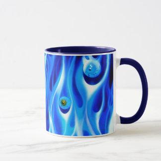 Tasse de café - globes oculaires de matin