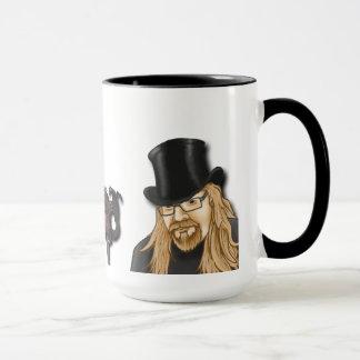 tasse de café gothique de théâtre de marionnette