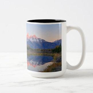 Tasse de café grande de parc national de Teton