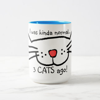 tasse de café il y a 3 chats