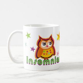 Tasse de café insomniaque de hibou