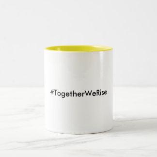 Tasse de café jaune de #TogetherWeRise