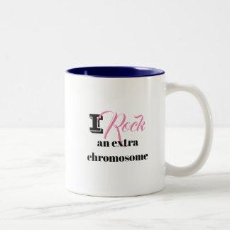 """Tasse de café """"je bascule un chromosome"""