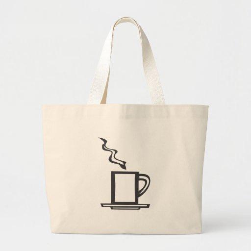 Tasse de café lisse sacs