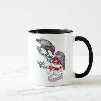 Tasse de café lunatique de faune de l'Alaska de