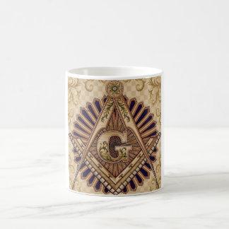 Tasse de café maçonnique