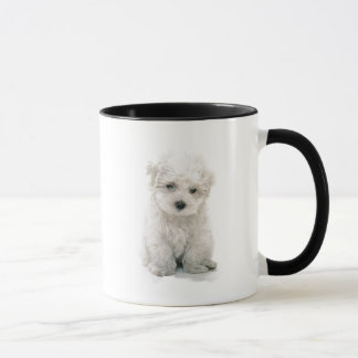 Tasse de café mignonne de Bichon Frise