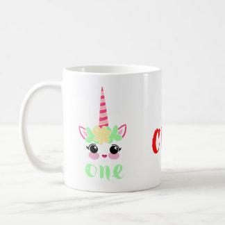 Tasse de café mignonne de licorne