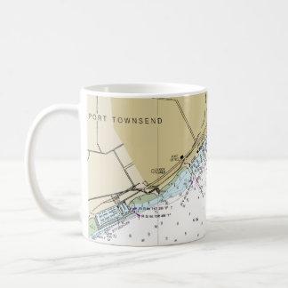 Tasse de café nautique de diagramme de Townsend de