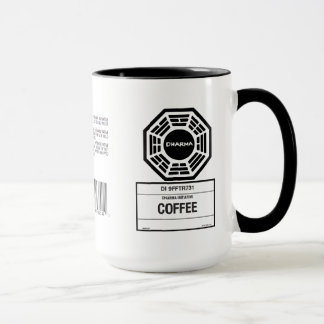 Tasse de café perdue de cygne