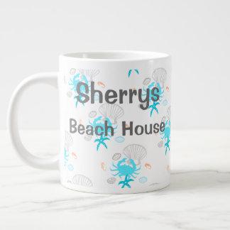 Tasse de café personnalisée de Chambre de plage