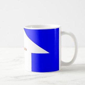 Tasse de café personnalisée de flèche