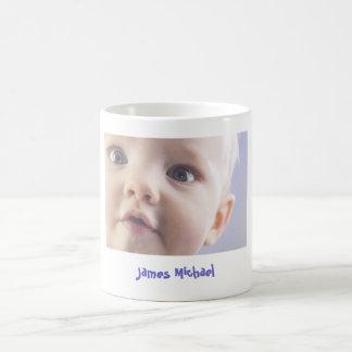 Tasse de café personnalisée de photo de bébé