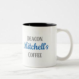 Tasse de café personnalisée du diacre