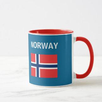 Tasse de café pittoresque d'Oslo