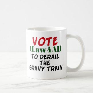 Tasse de café politique