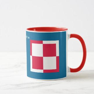 Tasse de café polonaise de rondeau de l'Armée de