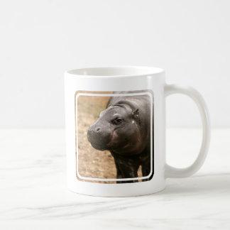 Tasse de café pygméenne d'hippopotame