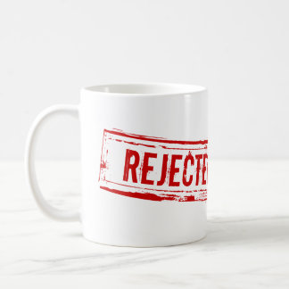 Tasse de café rejetée drôle de bureau