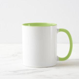 Tasse de café rouge d'amour de griffonnage