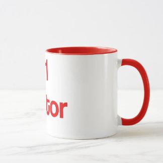 Tasse de café rouge du traître #1
