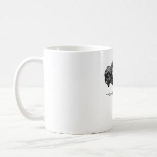 Tasse de café simple de logo de Buffalo