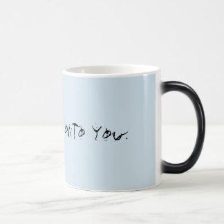 Tasse de café sinistre