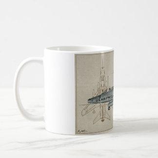 Tasse de café superbe du sabre F-100
