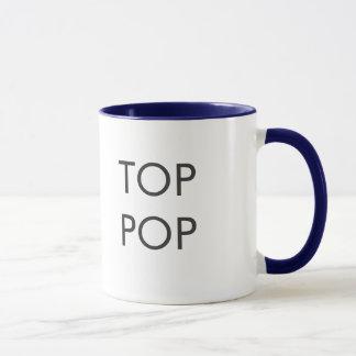 Tasse de café supérieure de bruit - gris