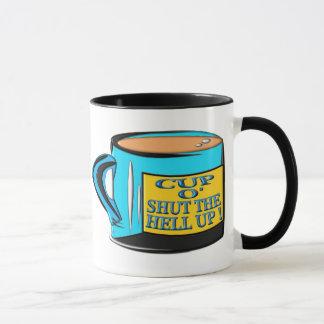 Tasse de café - tasse O fermé