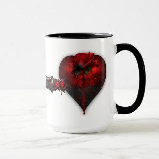 Tasse de café Valentine gothique