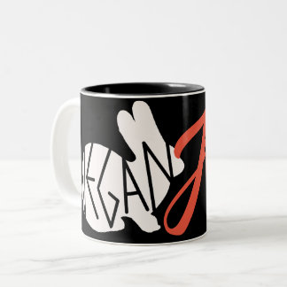 Tasse de café végétalienne d'AF
