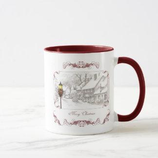 Tasse de café vintage de ChristmasTown