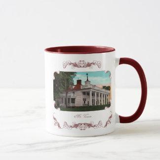 Tasse de café vintage du Mont Vernon