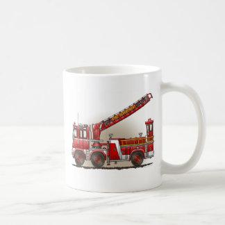 Tasse de camion de pompiers de crochet et