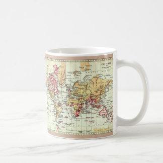 "Tasse ""de carte antique d'Empire Britannique"" de"