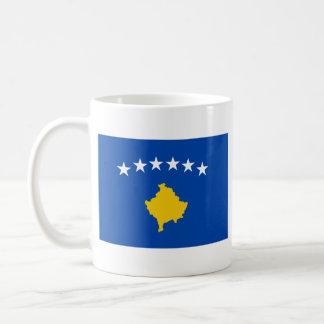 Tasse de carte de ~ de drapeau de Kosovo